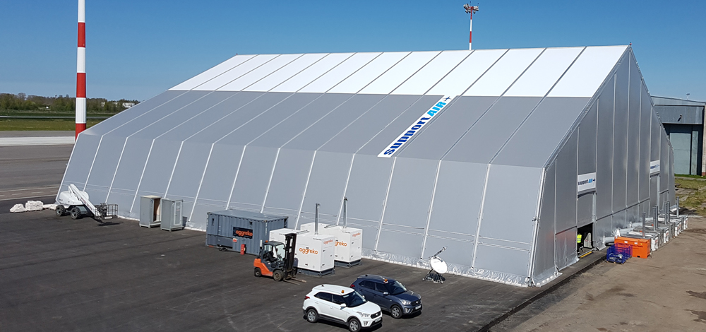 Portable Hangar Structures